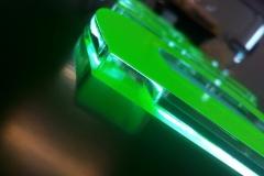Kaseton z literami 3D