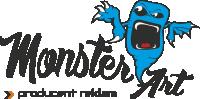 Logo Producent Reklam Monster Art