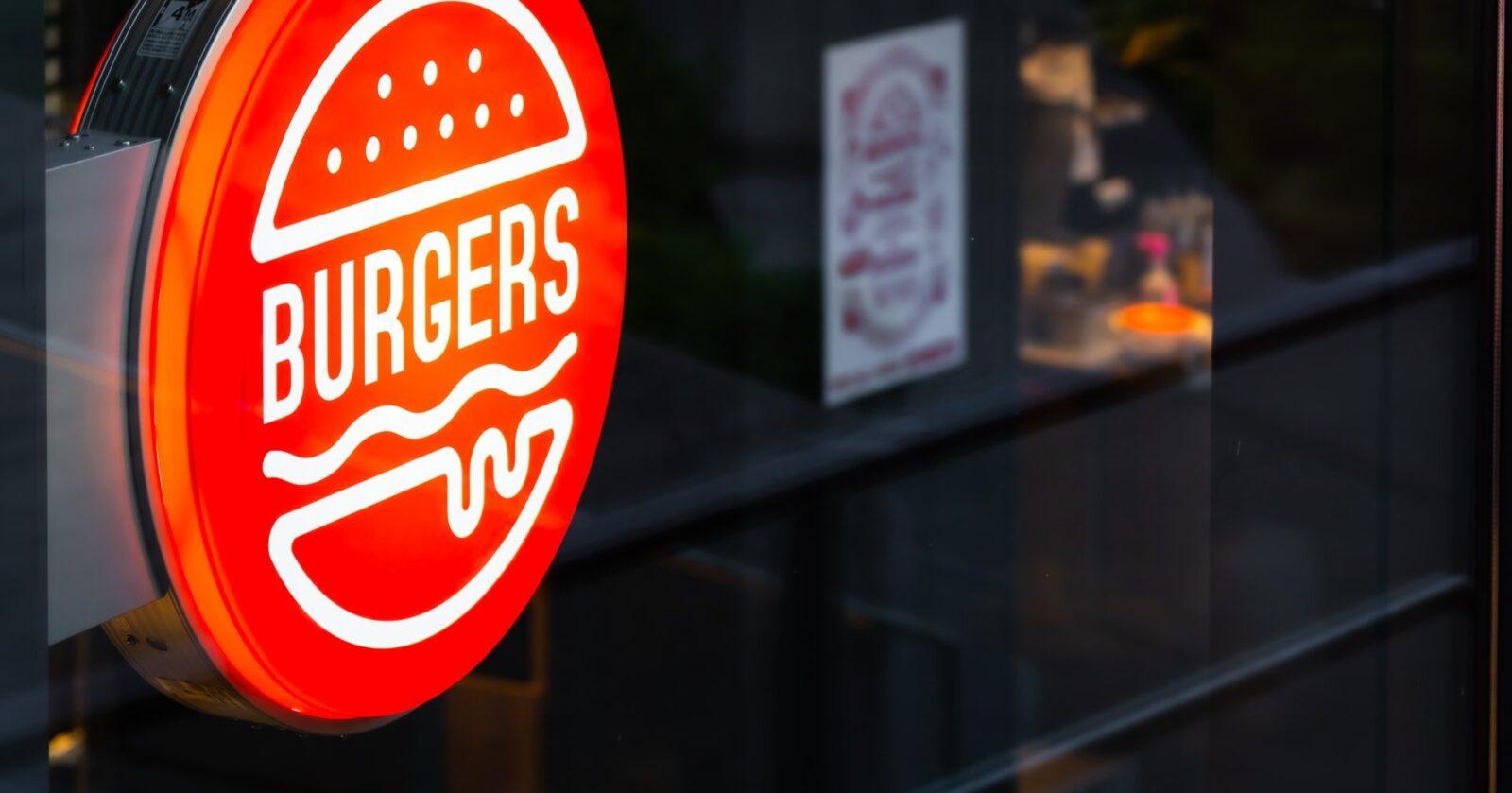 szyld burgery